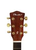 gitara akustyczna t.burton lity top headstock kościane siodełko tusq